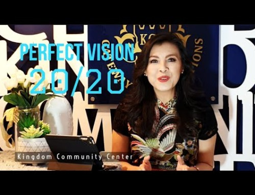 KCC Theme and Spiritual Guidance for the year 2020 – PERFECT VISION 20/20