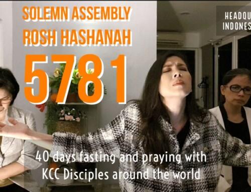 Solemn Assembly ROSH HASHANAH 5781