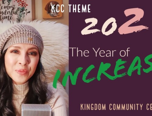 KCC THEME 2021 The Year of INCREASE